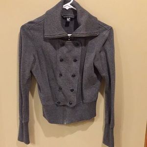 Banana Republic Grey Jacket. Size S Anne Jacket
